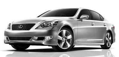 2012 Lexus LS460 Mercury Metallic
