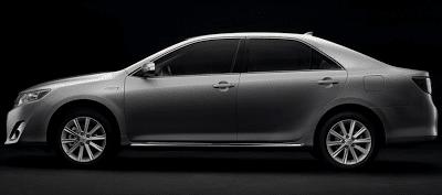 2012 Toyota Camry Hybrid Profile Grey