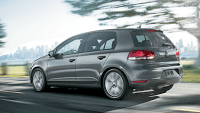 2012 Volkswagen Golf grey