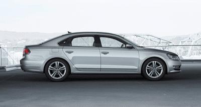 2012 Volkswagen Passat Silver Profile