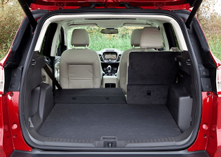 2013 Ford Escape Cargo Area