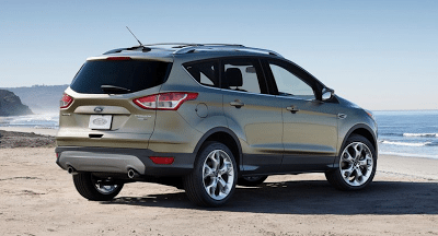 2013 Ford Escape Rear Three Quarter
