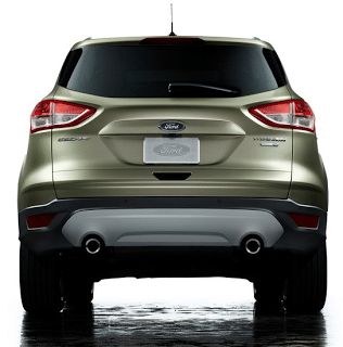 2013 Ford Escape Rear