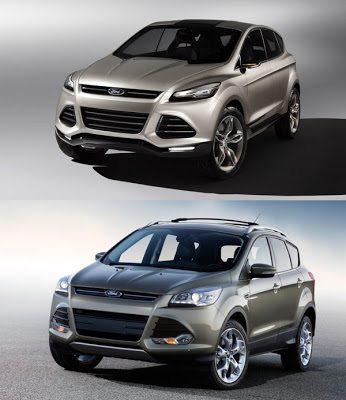 2013 Ford Escape vs 2011 Ford Vertrek
