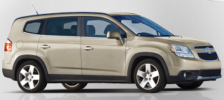 2012 Chevrolet Orlando Cashmere Metallic