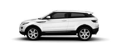 2012 Land Rover Range Rover Evoque Coupe Fuji White