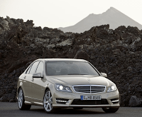 2012 Mercedes-Benz C-Class Sedan Mountains