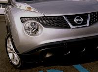 Nissan Juke front end