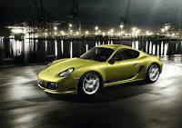 2011 Porsche Cayman R Green