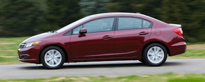 2012 Honda Civic Sedan profile
