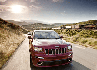 2012 Jeep Grand Cherokee SRT8 Red