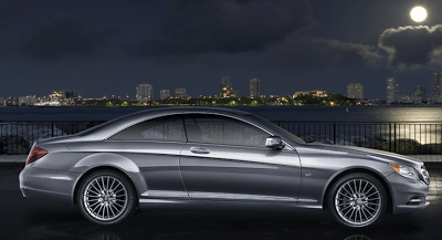 2012 Mercedes-Benz CL600 Profile Palladium Silver
