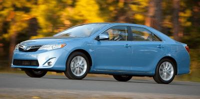2012 Toyota Camry Hybrid Blue