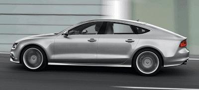 2013 Audi S7 Profile Silver