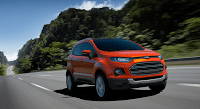 2012 Ford EcoSport orange front end