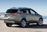 New 2013 Ford Escape Rear Three Quarter