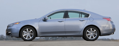 2012 Acura TL profile