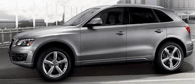 2012 Audi Q5 profile