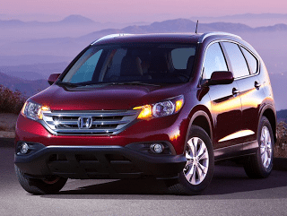 2012 Honda CR-V front end