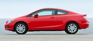 2012 Honda Civic Coupe profile