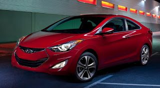 2012 Hyundai Elantra Coupe Front End