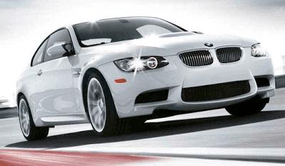 E92 BMW M3 White