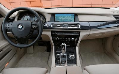 2011 BMW 750Li Interior