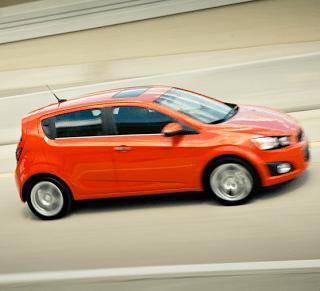 2012 Chevrolet Sonic Hatchback Orange