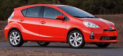 2012 Toyota Prius C Red