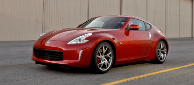 2013 Nissan 370Z Red
