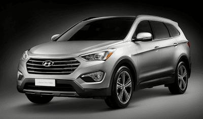 2013 Hyundai Santa Fe Long Wheelbase