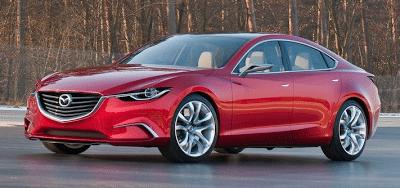 2011 Mazda Takeri Concept Front Side Angle