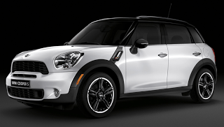 2012 Mini Cooper S Countryman White Black roof