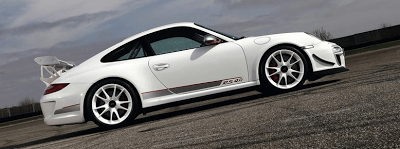 2012 Porsche 911 GT3 RS 4.0 White Profile