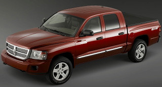 2008 Dodge Dakota Red