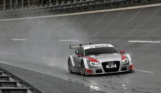 2012 Audi A5 DTM In rain