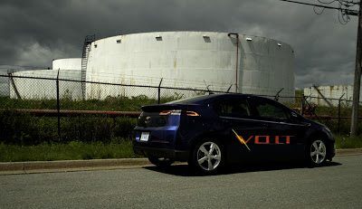 2012 Chevrolet Volt Rear Side View Oil Tank Farm