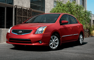 2012 Nissan Sentra Red