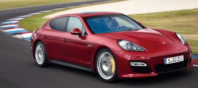 2012 Porsche Panamera GTS Red