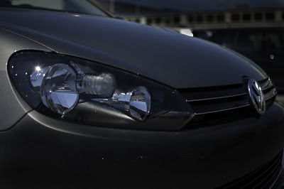2012 Volkswagen Golf Comfortline Headlamp