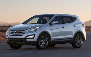 2013 Hyundai Santa Fe Sport Silver