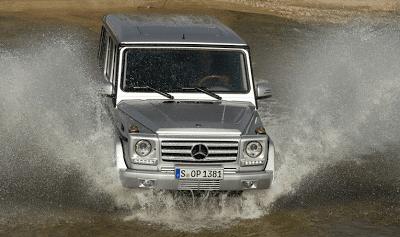 2013 Mercedes-Benz G-Class Splash