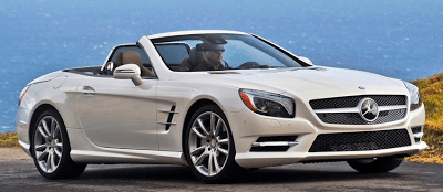 2013 Mercedes-Benz SL550 White
