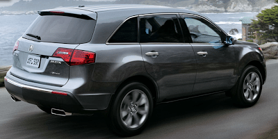 2012 Acura MDX Polished Metal Advanced Package