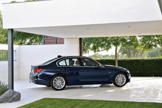 2012 BMw 3-Series Navy Blue