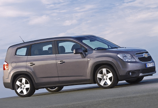 2012 Chevrolet Orlando grey profile