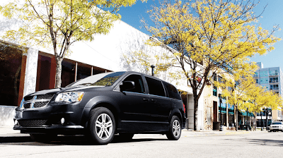 2012 Dodge Grand Caravan black