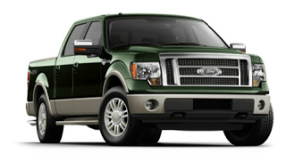 2012 Ford F-150 Green