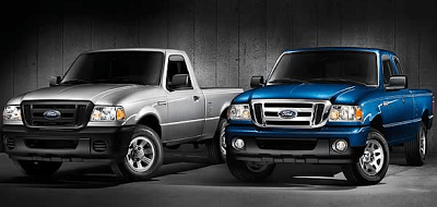 2012 Ford Ranger XL and XLT