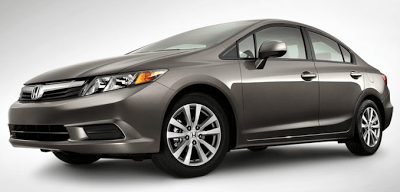 2012 Honda Civic Sedan Brown